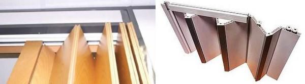 Складные двери: книжка, гармошка, межкомнатные, входные