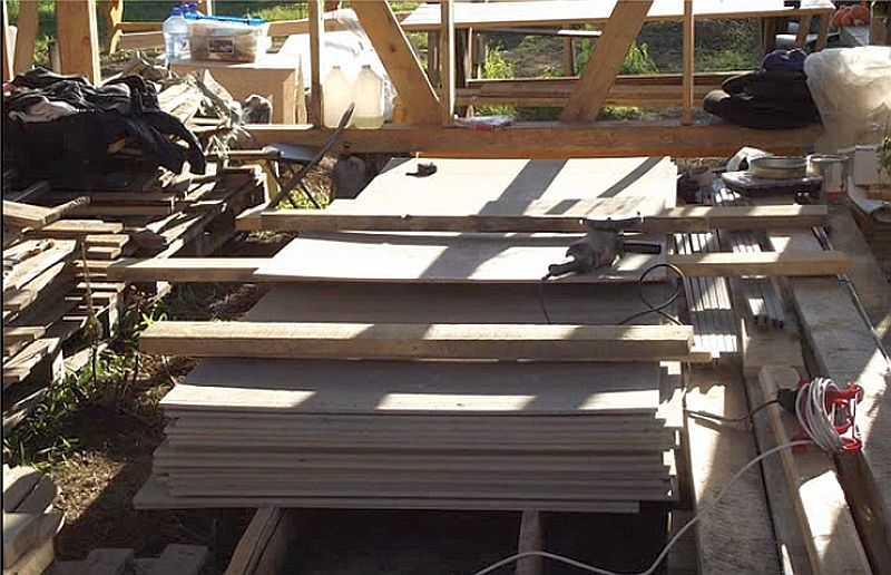 Как построить гараж для машины своими руками 81