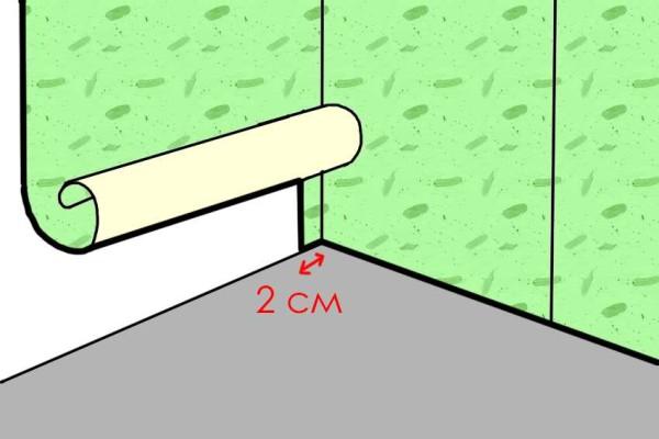 Как правильно наклеить обои на стену с балкой 9