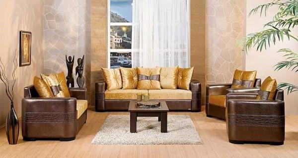 Кирпичная или каменная кладка - последняя мода при оформлении гостиной