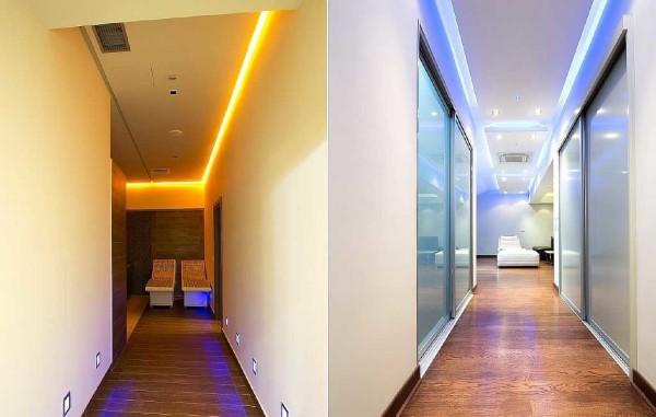 Варианты подсветки для коридора