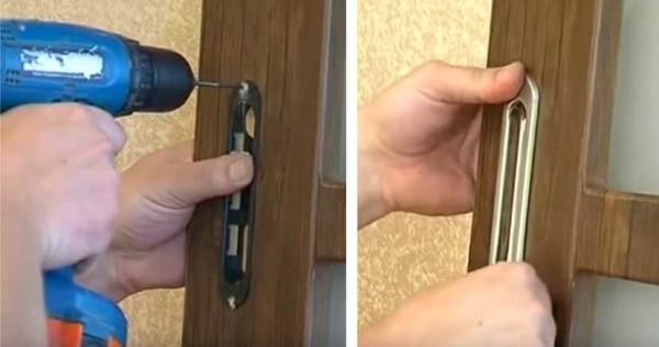 Раздвижная дверь межкомнатная одностворчатая своими руками