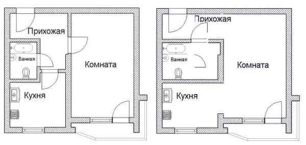 Сделать из однокомнатной квартиры квартиру-студию