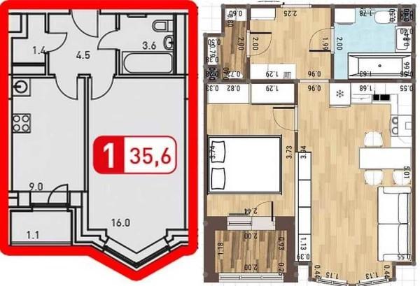 Один из способов увеличить площадь при ремонте - демонтировать перегородки. Только это вариант - перенос кухни на место спальни вам никто никогда не согласует. Чудо может случиться только на первом этаже