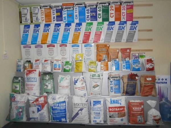 Шпаклевка продается в широком ассортименте