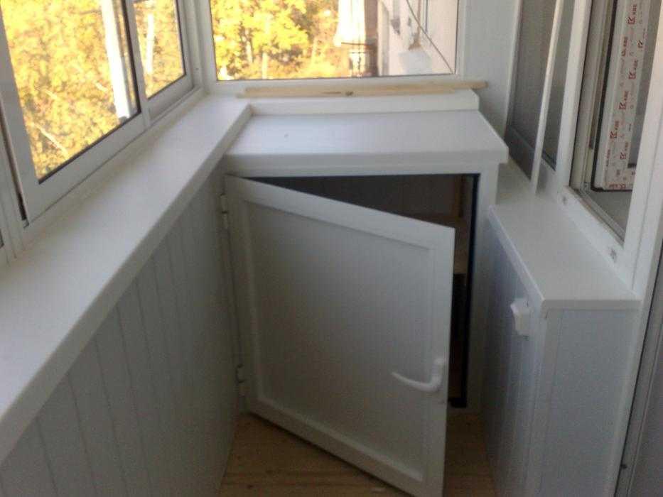 Угловой шкаф на балконе своими руками фото 183