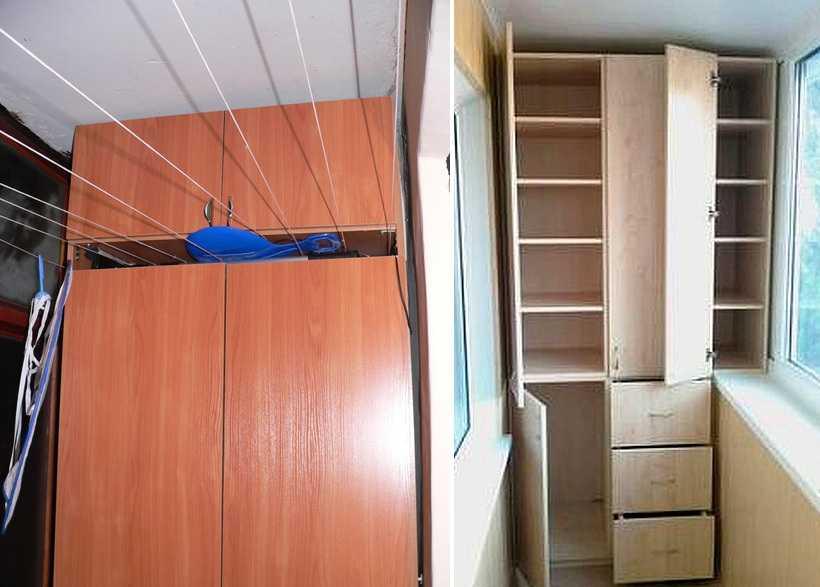 Как сделать шкаф на лоджии своими руками дешево и красиво.