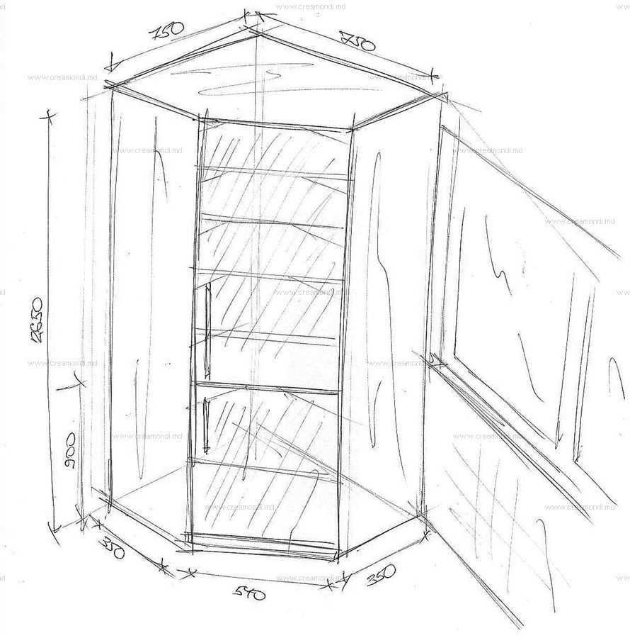 чертеж балкона фото