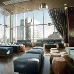 Текстиль, мебель, освещение - интересный эффект