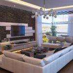 Потолок и подсветка - два способа оживить картину