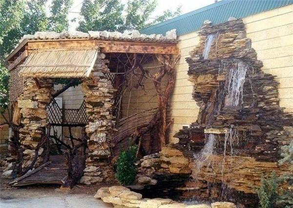 декоративный водопад своими руками