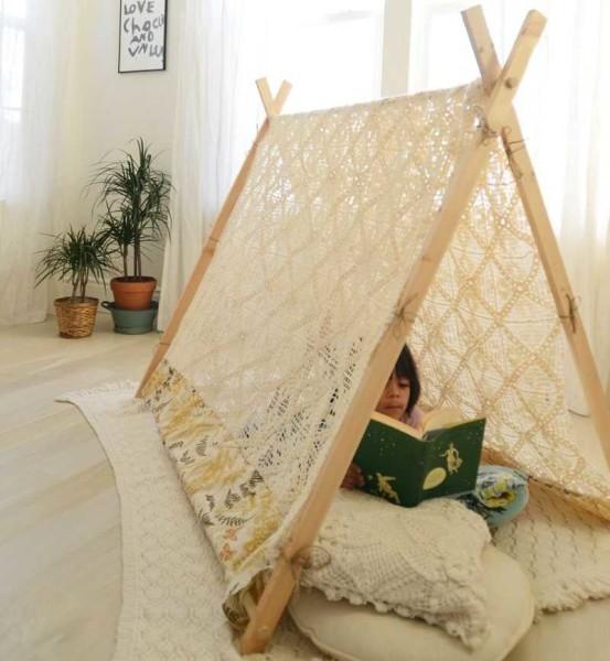 Треугольная палатка - нужны 7 планок