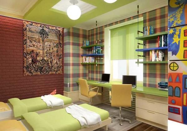 Дизайн комнаты для мальчика не должен быть скучным