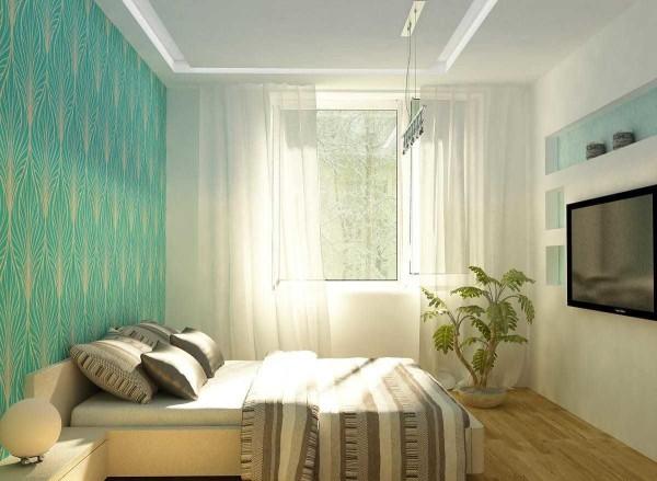 Маленькая спальня - ничего лишнего