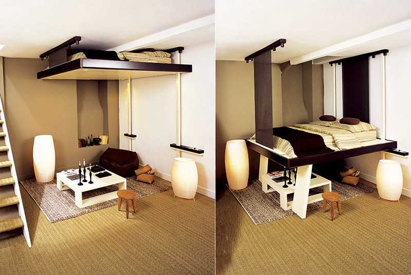 Идеи дизайна маленьких комнат