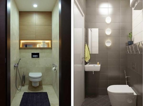 К традиционным светильникам на потолке можно добавить два-три на стене