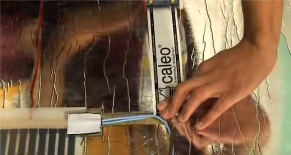Электрические теплые полы под ламинат