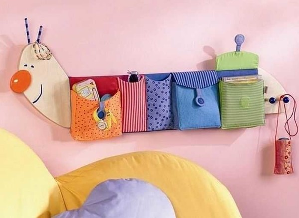 Один из вариантов кармашков для игрушек