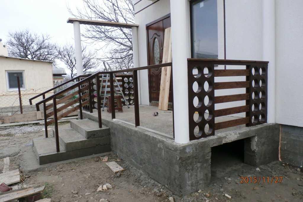 Построить крыльцо к дому своими руками фото фото 560