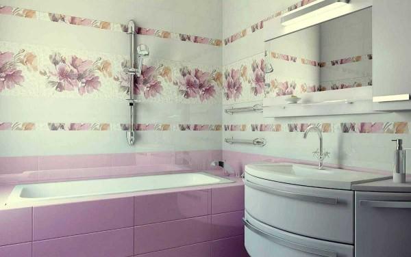 При использовании цветочного орнамента важно правильно подобрать фон: один из имеющихся в рисунке