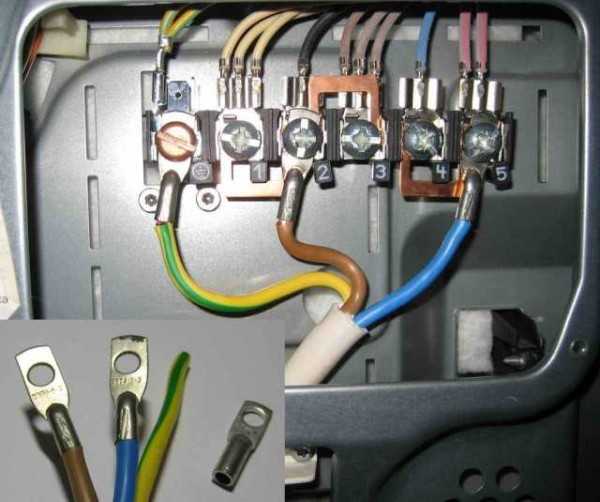 Лучше проводники оконечить контактными пластинками