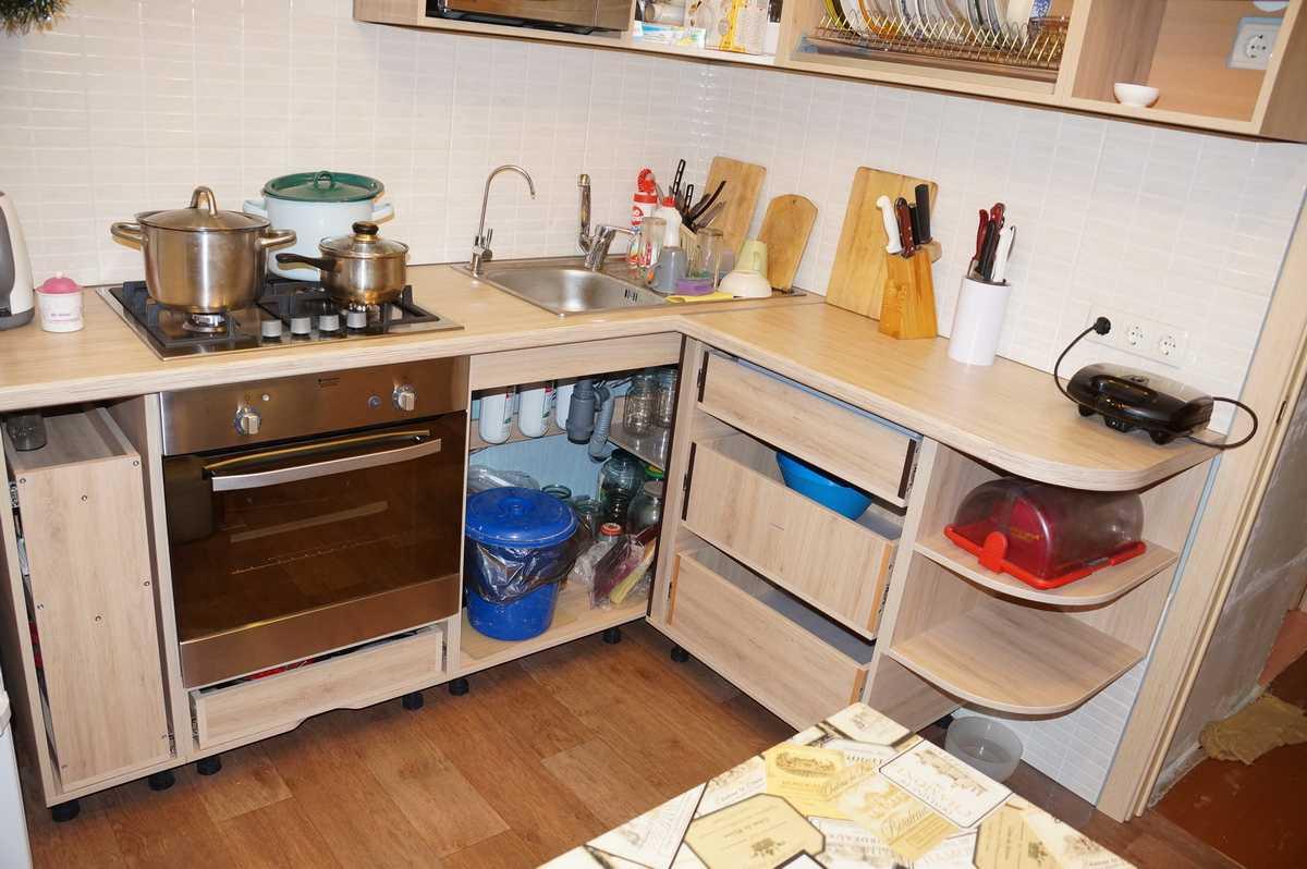 Мебель для кухни своими руками для маленькой кухни 83