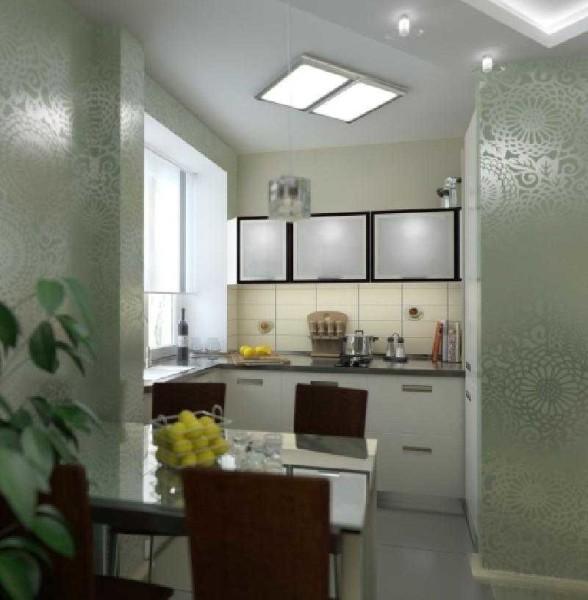 """Стеклянные дверцы - способ сделать мебель более """"легкой"""""""