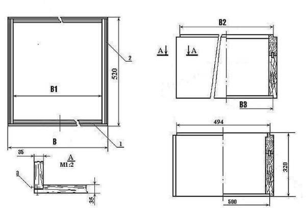 Схема сборки корпуса