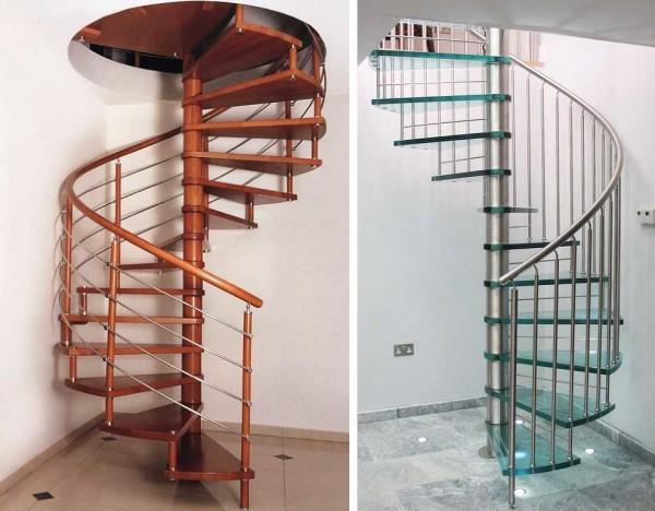 Самые компактные межэтажные лестницы