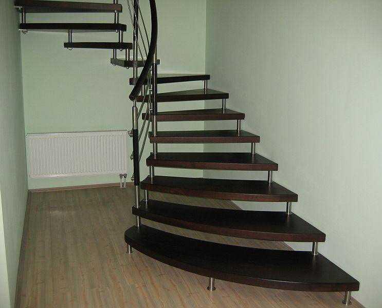 Деревянная лестница на второй этаж своими руками правила
