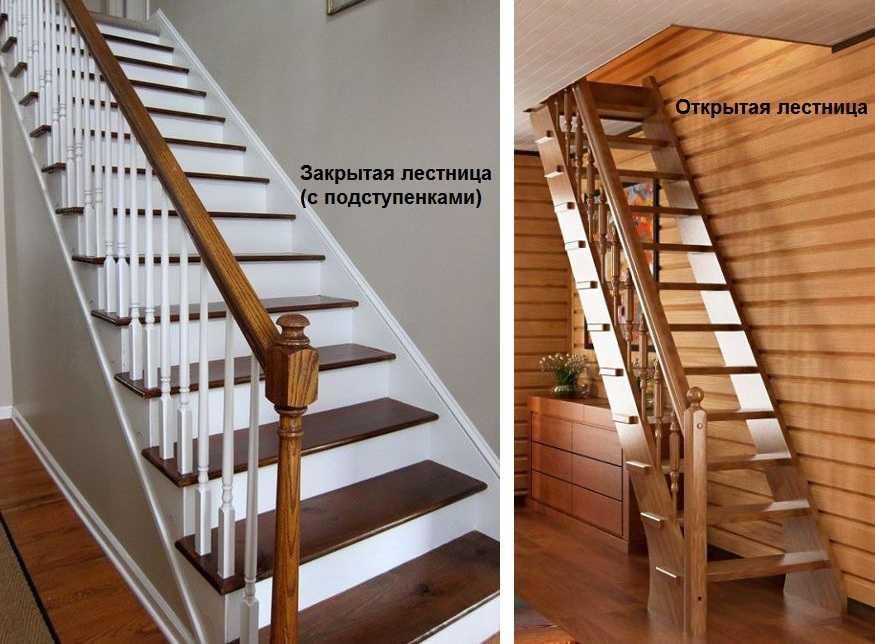 В картинках как сделать лестницу