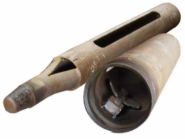 Желонка с клапаном для сыпучих грунтов