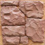 Формат гипсовой плитки может быть любым - очень пластичный раствор позволяет получить любую поверхность и форму