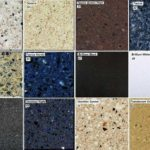 Вариантов окраски может быть много: кварцевый агломерат