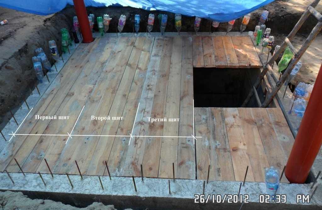 Как сделать стены в подвале