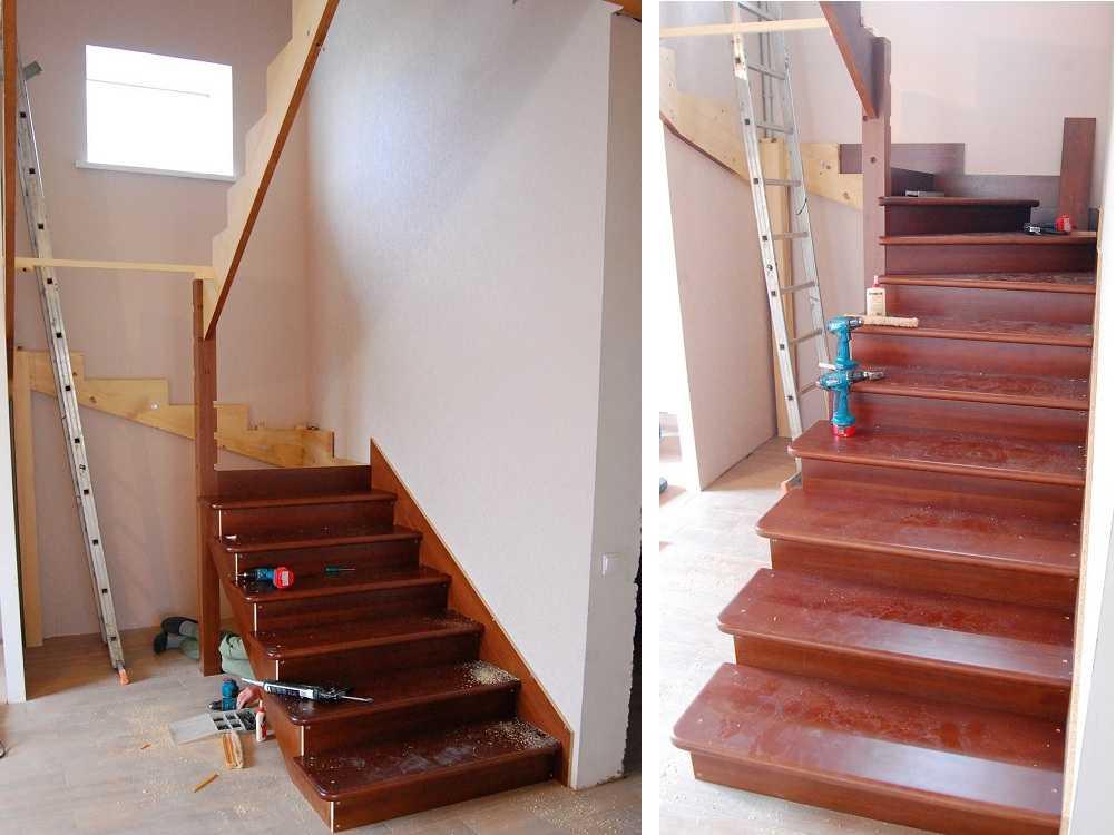 Фото лестниц на второй этаж в частном доме своими руками расчет фото 2