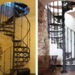 Кованные витые лестницы - классика жанра