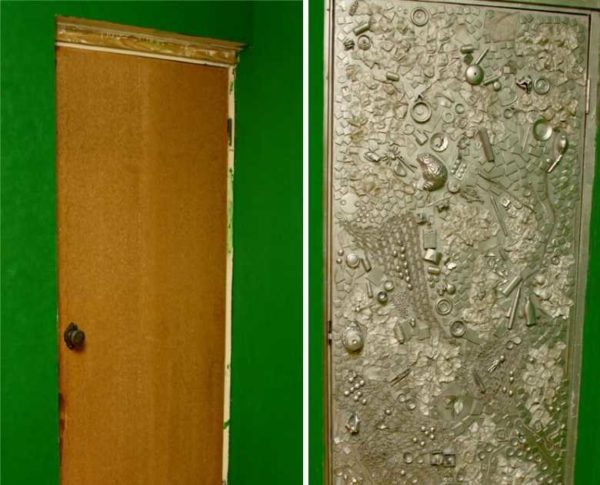 Это какие двери были и какими их можно сделать
