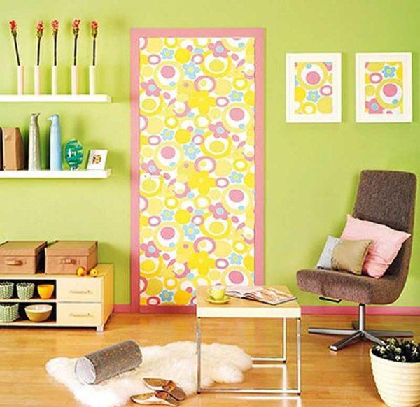 Как украсить старую комнату своими руками