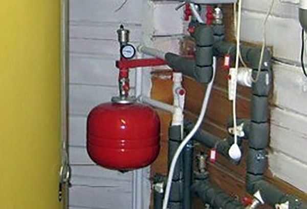 Установка гидроаккумулятора для отопления