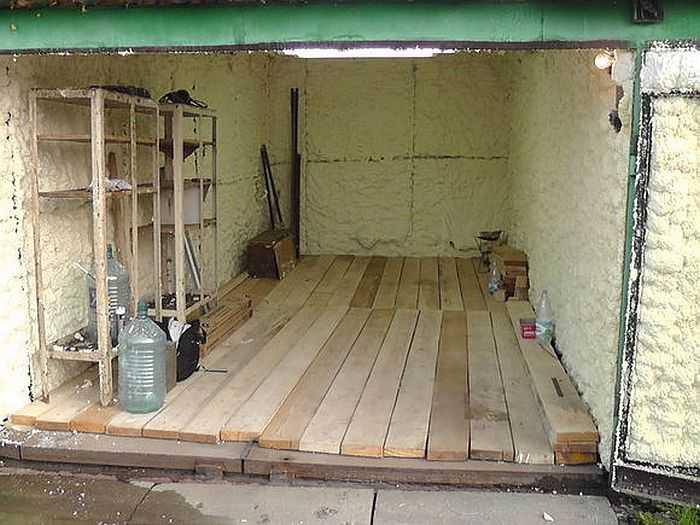 Утеплить деревянный гараж своими руками