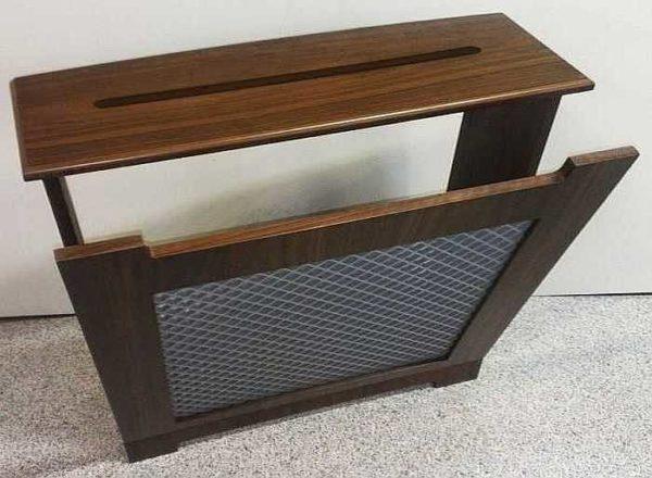 Приставная решетка-короб для радиатора