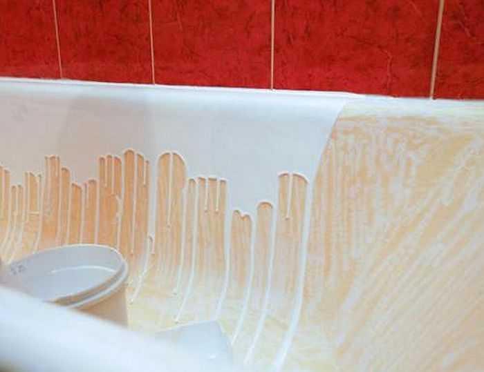 Акриловая краска в ванну своими руками