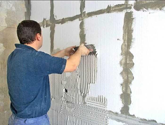 Герметизация швов железобетонных конструкций
