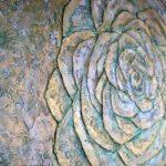 Роза из штукатурки