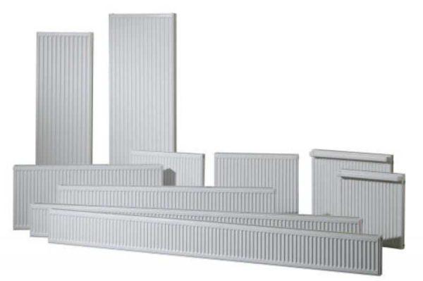 Панельные радиаторы могут быть разной конфигурации и мощности