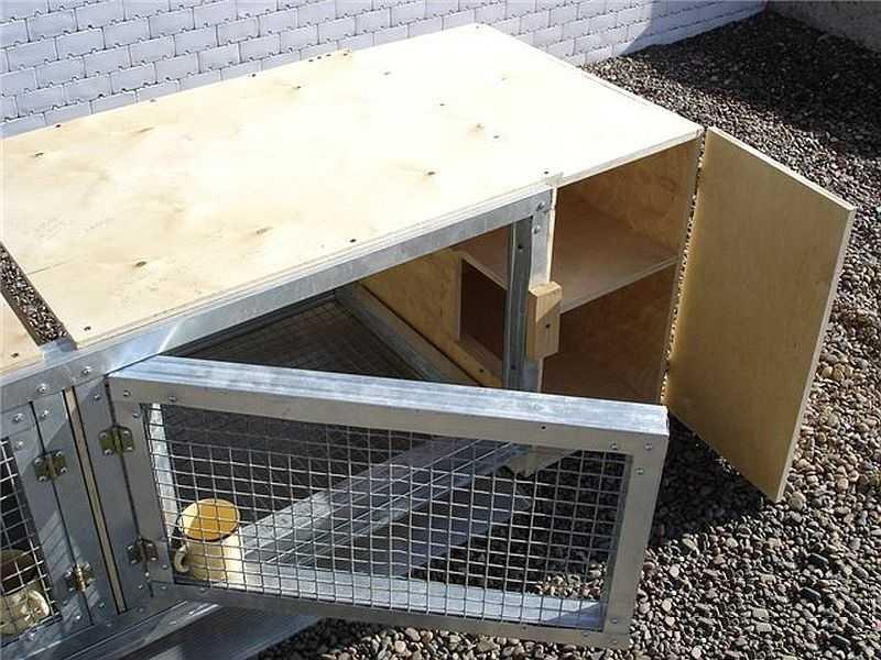 Как сделать хорошую клетку.для кроликов