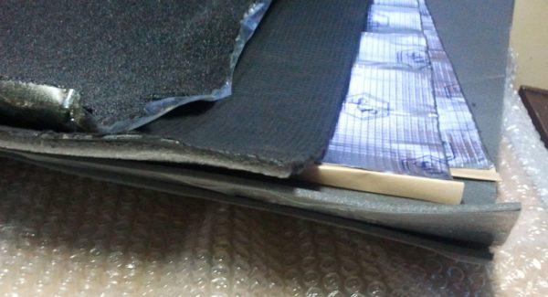 Материалы для шумо- тепло- изоляции двери