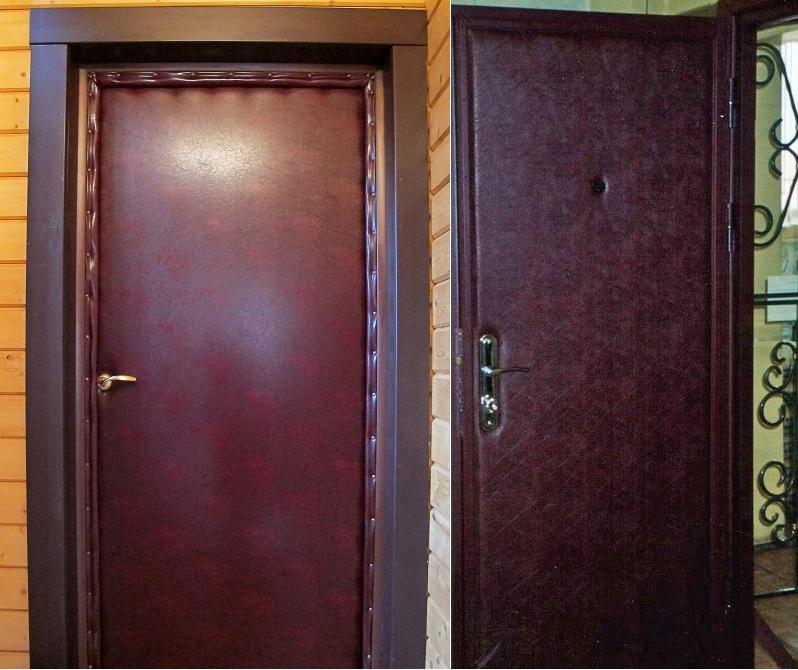 Входные двери своими руками фото 91