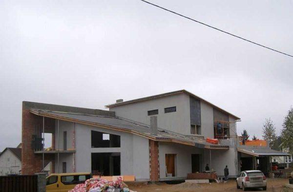 Разноуровневый дом - интересный реализованный проект
